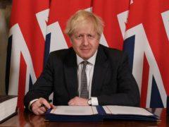 Boris Johnson said Britain had negotiated a good deal with the EU (Leon Neal/PA)