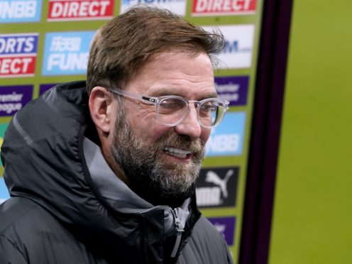Jurgen Klopp has denied playing mind games ahead of Liverpool's clash with Manchester United (Owen Humphreys/PA)