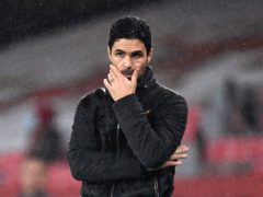Mikel Arteta's hopes of lifting the FA Cup again were ended (Andy Rain/PA)