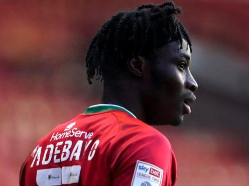 Elijah Adebayo has scored 10 goals for Walsall this season (Zac Goodwin/PA)
