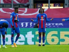 Ebere Eze scored his second goal for Crystal Palace in the 2-0 win over Sheffield United (John Walton/PA)