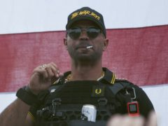 Proud Boys leader Henry 'Enrique' Tarrio (Allison Dinner/AP)