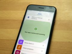 Google said the issue appears to be delaying the app's ability to carry out regular exposure checks – a key part of contact tracing (Steve Parsons/PA)