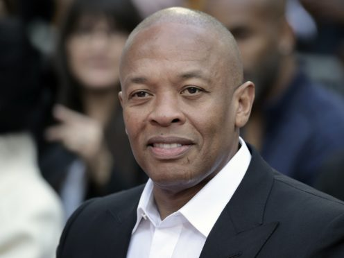 Dr Dre said he is 'doing great and getting excellent care' following reports he had been taken ill and was in hospital (Richard Shotwell/Invision/AP, File)