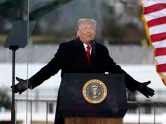 President Donald Trump has conceded to Joe Biden following violence at the US Capitol (Jacquelyn Martin/AP)