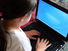 Department for Education (DfE) said it believes the issue has only affected a 'small number of devices' (Peter Byrne/PA)