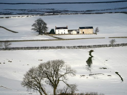 The UK has seen snow recently (Owen Humphreys/ PA)