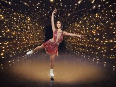 Dancing On Ice contestant Myleene Klass (Matt Frost/ITV)