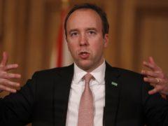 Health Secretary Matt Hancock (PA)