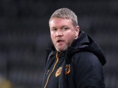 Grant McCann's Hull eased past Accrington (Martin Rickett/PA)