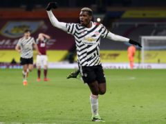Paul Pogba's volley sent Manchester United top of the league (Clive Brunskill/PA)