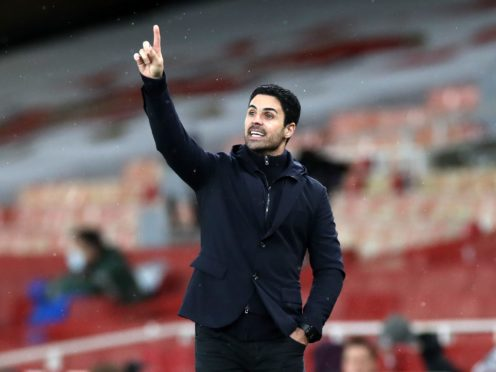 Mikel Arteta wants to add players to his Arsenal squad in the coming days (Peter Cziborra/PA)
