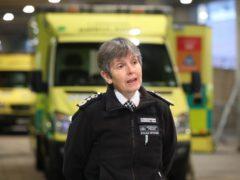 Metropolitan Police Commissioner Dame Cressida Dick said a 'small minority' of people are still failing to follow the coronavirus regulations (Jonathan Brady/PA)