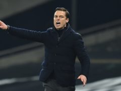 Scott Parker's side claimed a point at Spurs (Glyn Kirk/PA)