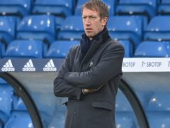Brighton boss Graham Potter has a lengthy injury list (Michael Regan/PA)
