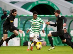Jeremie Frimpong looks to be on his way out of Celtic (Andrew Milligan/PA)