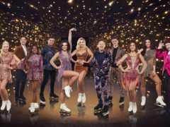 The 2021 Dancing On Ice contestants (Matt Frost/ITV)