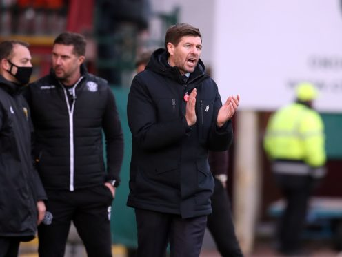 The title is looming for Steven Gerrard and Rangers (Andrew Milligan/PA)