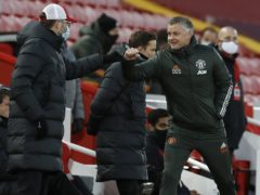 Ole Gunnar Solskjaer felt United should have taken advantage of a makeshift Liverpool defence (Phil Noble/PA)