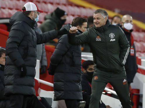 Ole Gunnar Solskjaer felt Manchester United should have taken advantage of a makeshift Liverpool defence (Phil Noble/PA)