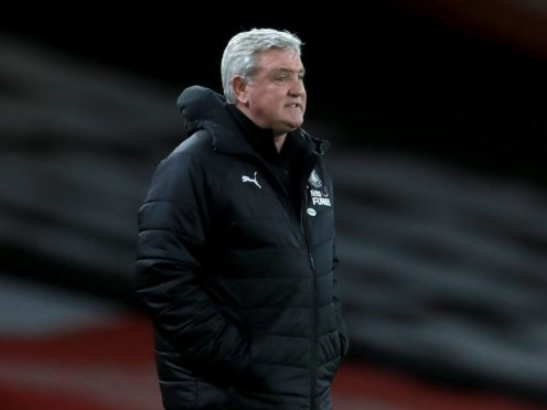 Steve Bruce's Newcastle suffered another disappointing defeat (Adam Davy/PA)