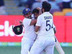 India claimed a stunning series win over Australia (Tertius Pickard/AP)