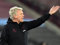 David Moyes does not want West Ham to fall away (Glyn Kirk/PA)