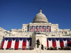 Final preparations are made ahead of the 59th Presidential Inauguration (Carolyn Kaster/AP)