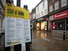 Britain's jobless rate has soared to its highest level for more than four years as official figures showed nearly 830,000 workers have been dropped from UK payrolls since the start of the pandemic (Andrew Matthews/PA)