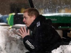 Neil Lennon is carrying on as normal as Celtic boss (Andrew Milligan/PA)