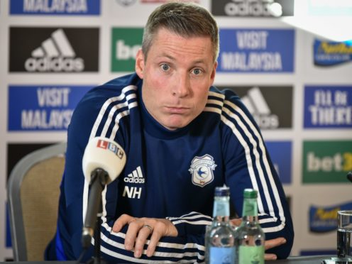 Cardiff manager Neil Harris spent 14 months in charge of the Bluebirds (Ben Birchall/PA)