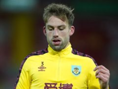 Burnley's Charlie Taylor remains doubtful for the game against Aston Villa (Zac Goodwin/PA)