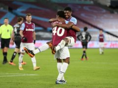 Oladapo Afolayan marked his West Ham debut with a goal in the 4-0 win over Doncaster (Nigel French/PA)