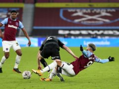 Said Benrahma was unable to open his account for West Ham in the 4-0 win against Doncaster (Nigel French/PA)