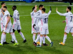 Real Madrid returned to winning ways at Alaves (Alvaro Barrientos/AP)