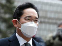 Samsung Electronics vice chairman Lee Jae-yong (AP)