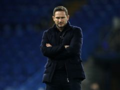 Frank Lampard expressed his disappointment after being sacked by Chelsea (Matthew Childs/PA)