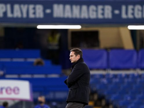 Frank Lampard has been sacked by Chelsea (John Walton/PA)