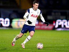 Gareth Bale will not be used as a striker to replace the injured Harry Kane, according to boss Jose Mourinho (John Walton/PA)