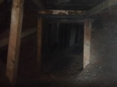 Protesters say liquid mud is pouring into the 100ft network of tunnels (HS2 Rebellion/PA)