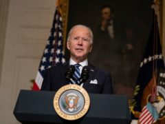 President Joe Biden delivers remarks on climate change and green jobs (Evan Vucci/AP)