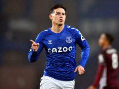 James Rodriguez scored for Everton (Paul Ellis/PA)
