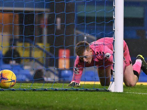 Jordan Pickford's error allowed Leicester to score an equaliser (Paul Ellis/PA)