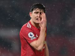 Harry Maguire was angered by Wednesday's loss (Laurence Griffiths/PA)