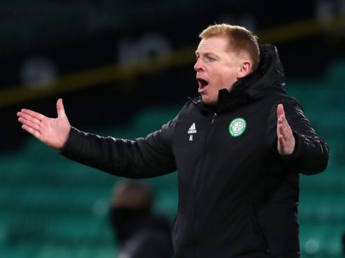 Celtic manager Neil Lennon suffered more misery (Andrew Milligan/PA)