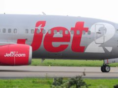 Jet2 has suspended all flights and holidays until March 25 (Anna Gowthorpe/PA)