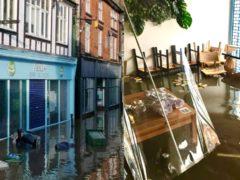 Northwich Coffee Shop Abda's was hit by flooding (Abda Ltd Coffee Shop)