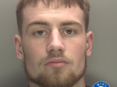 Callum Fellows has been jailed for three years (West Midlands Police/PA