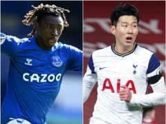 Moise Kean and Son Heung-min appear to be in demand (Michael Regan/Jon Super/PA)