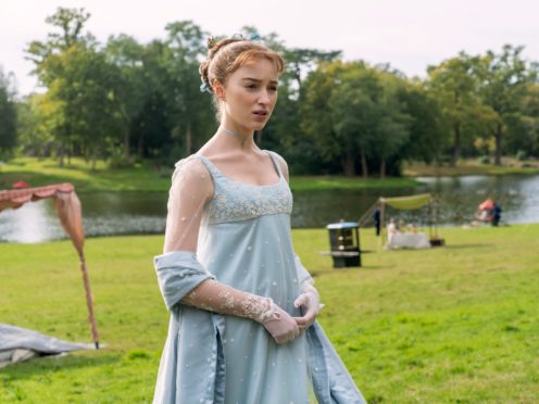 Phoebe Dynevor starred in Bridgerton, a major hit for Netflix (Liam Daniel/Netflix/PA)